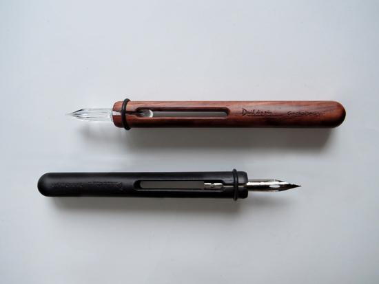 GeckoDesign 和諧之筆 x 默契墨水瓶(長) 手工製文具組 4