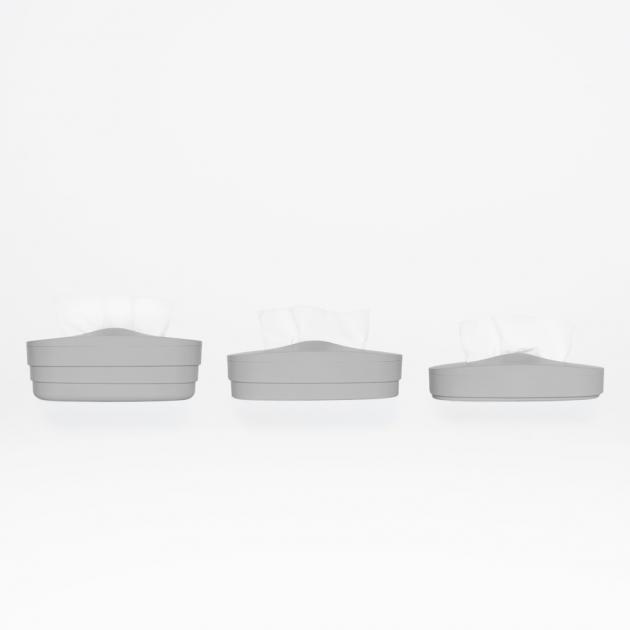 Flexible Tissue Box - Cream Gray 4
