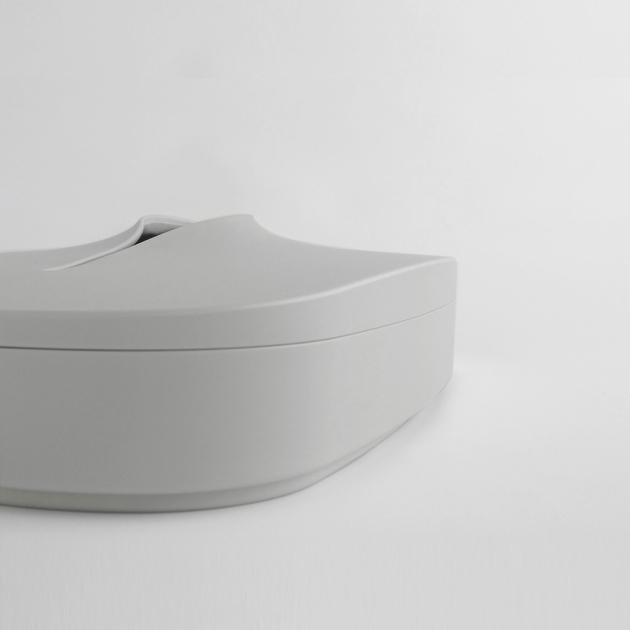 Flexible Tissue Box - Cream Gray 7
