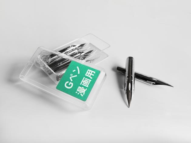 日本Zebra斑馬 沾水筆筆尖-G尖普通版 (10支盒裝) 2