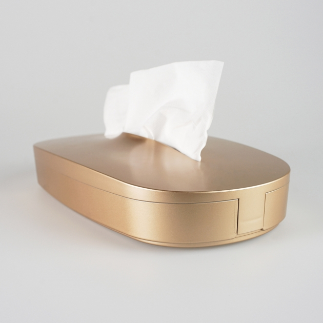Flexible Tissue Box - Luxury Gold 2