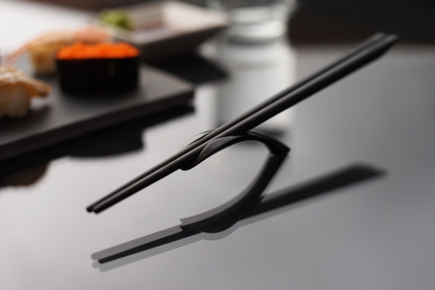 Balanced Chopsticks Rest - Simple beige 8