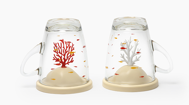 QUALY 珊瑚杯 (2色) 1