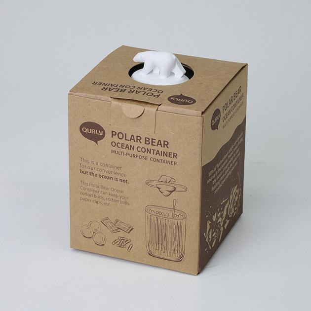 QUALY 北極熊收納罐 5