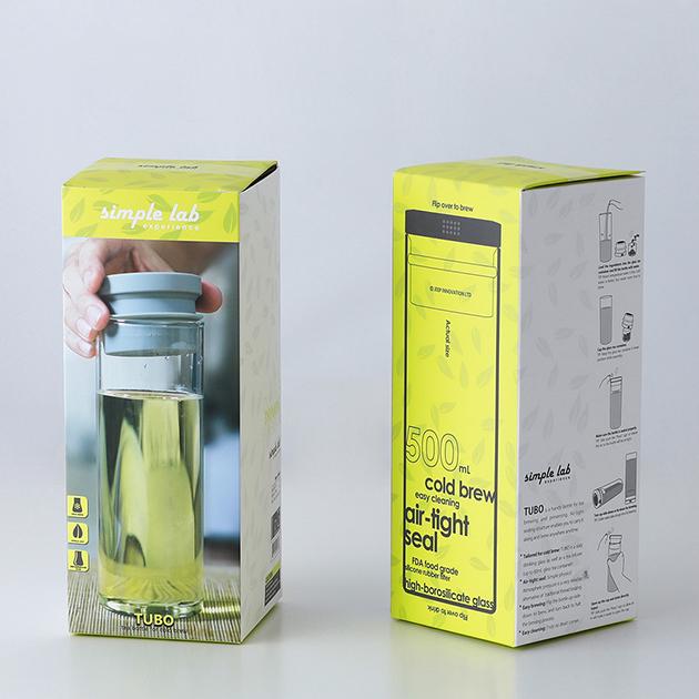simple lab TUBO 氣壓式泡茶壺 7