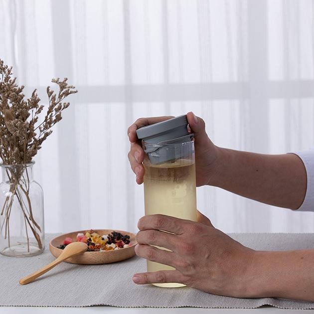 simple lab TUBO 氣壓式泡茶壺 4