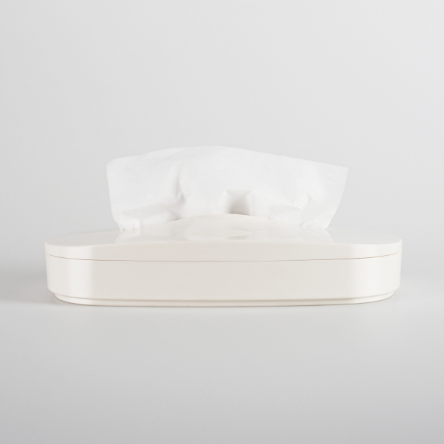 Flexible Tissue Box - Vanilla White 1