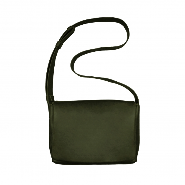 labrador 側背包 (墨綠) 1