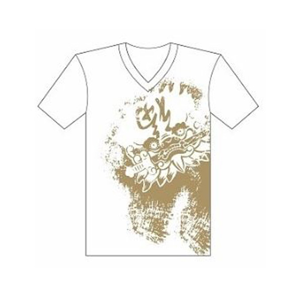 Sword-Lion In Tainan Anping T-shirt (Unisex) - Black/White 2