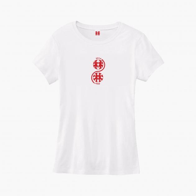 林百貨日本指針款式紀念T恤 (女性適用版) 白/黑 1