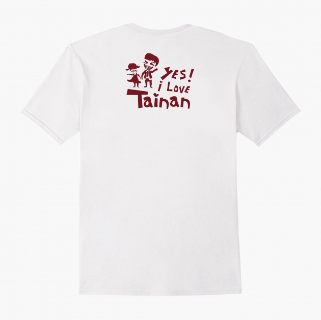 I Love Tainan T-shirt (Unisex & Child) - White 2