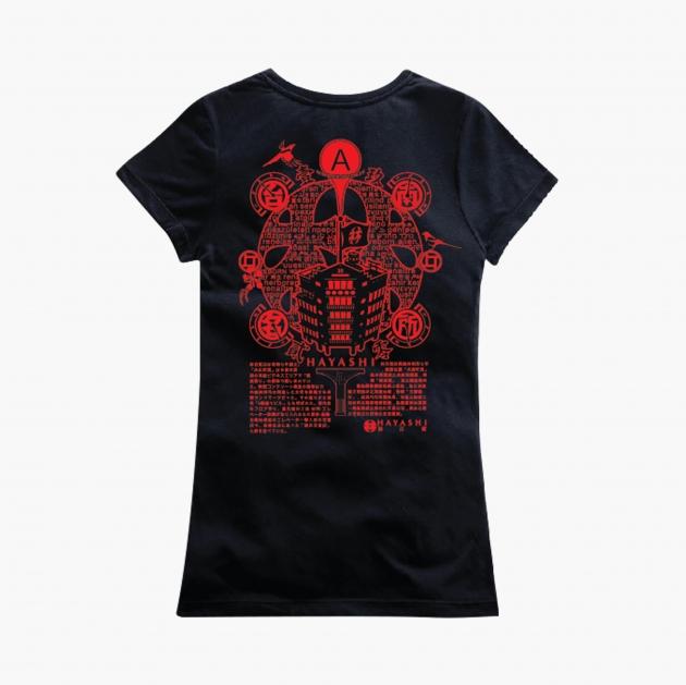 林百貨日本指針款式紀念T恤 (女性適用版) 白/黑 4