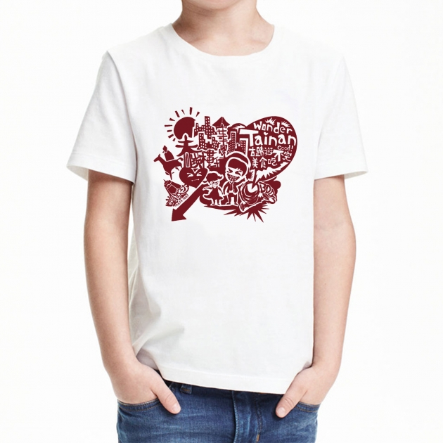 I Love Tainan T-shirt (Unisex & Child) - White 7