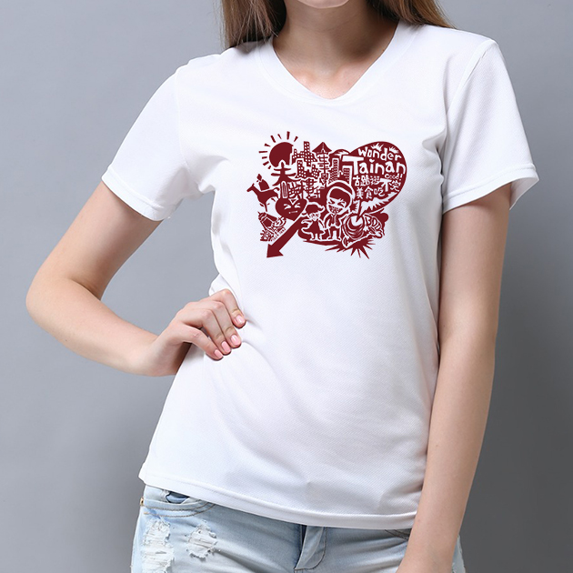 I Love Tainan T-shirt (Unisex & Child) - White 6