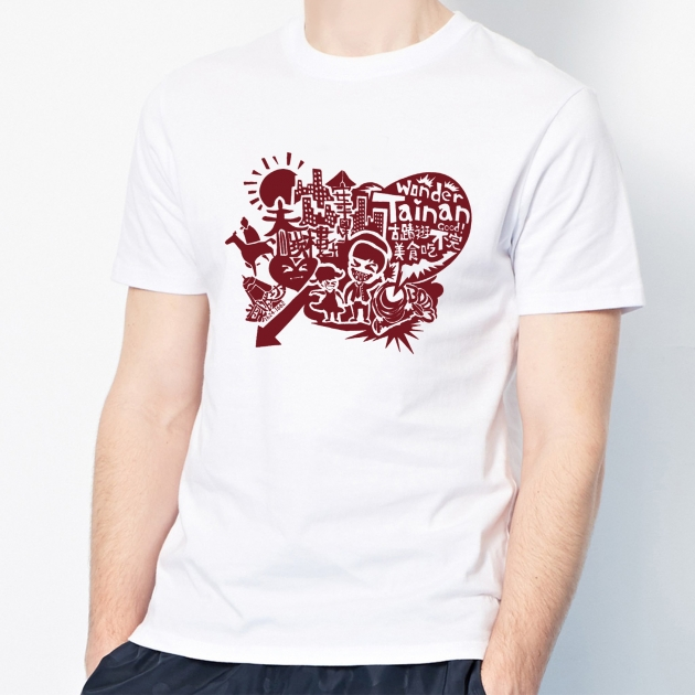 I Love Tainan T-shirt (Unisex & Child) - White 5