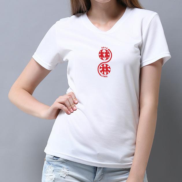 林百貨日本指針款式紀念T恤 (女性適用版) 白/黑 5
