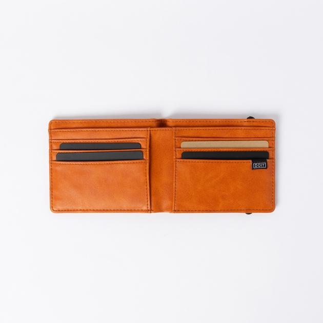DOIY 紳士系列-皮革配件-短夾 (2色) 3