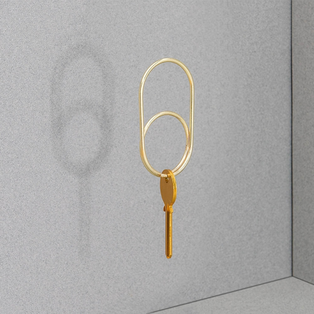 DOIY 紳士系列-金屬配件-鑰匙圈 4