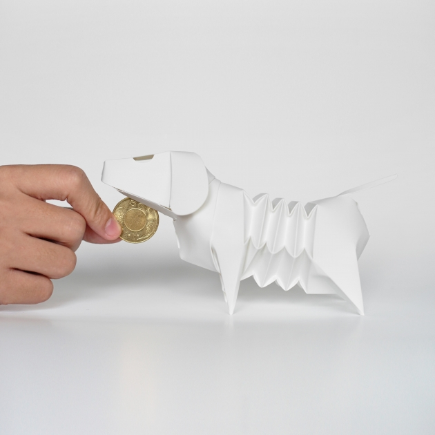 GeckoDesign 百變臘腸狗存錢筒系列 (※郵局寄送免運 !! 任選三組 組合價) 6