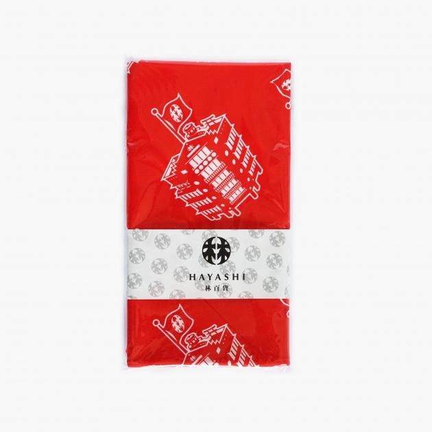 台灣古蹟建築 林百貨限定商品 (手拭巾) 1