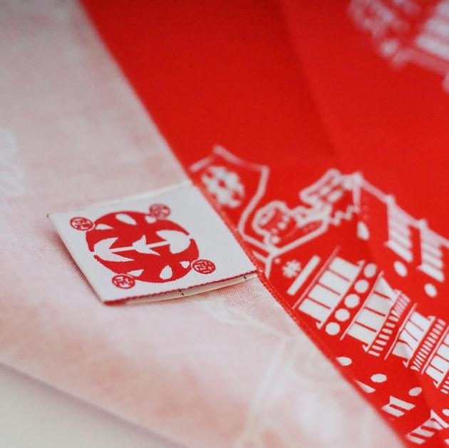 台灣古蹟建築 林百貨限定商品 (手拭巾) 4