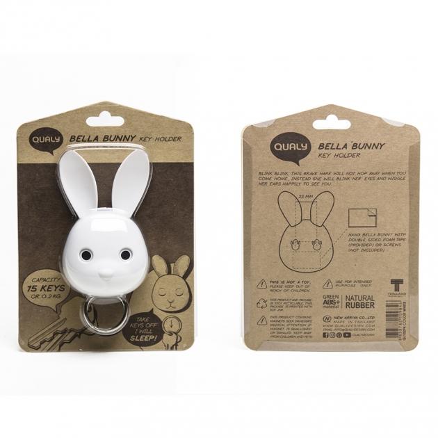 QUALY 邦妮兔-鑰匙圈 3