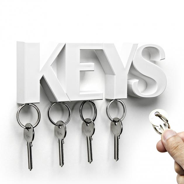 QUALY KEYS 鑰匙收納架 (3色) 3