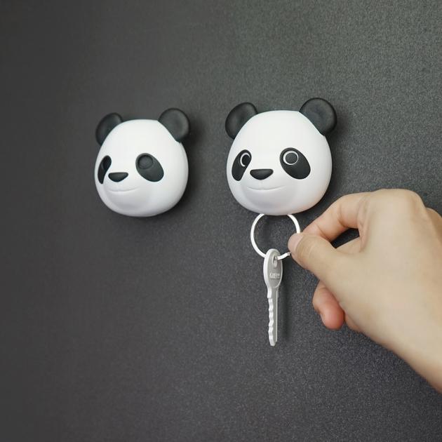 QUALY 熊貓鑰匙圈 4