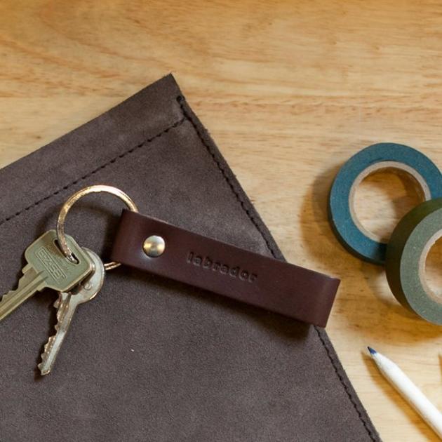 labrador 皮革鑰匙圈 (3色) 5
