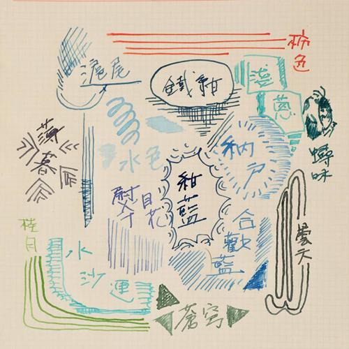 藍濃道具屋 Lennon Tool Bar-台灣色系墨水 3