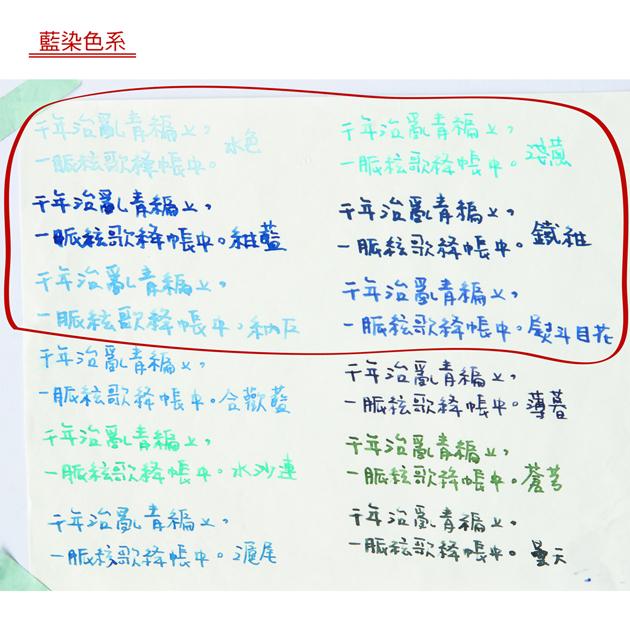藍濃道具屋 Lennon Tool Bar-藍染色系墨水 2