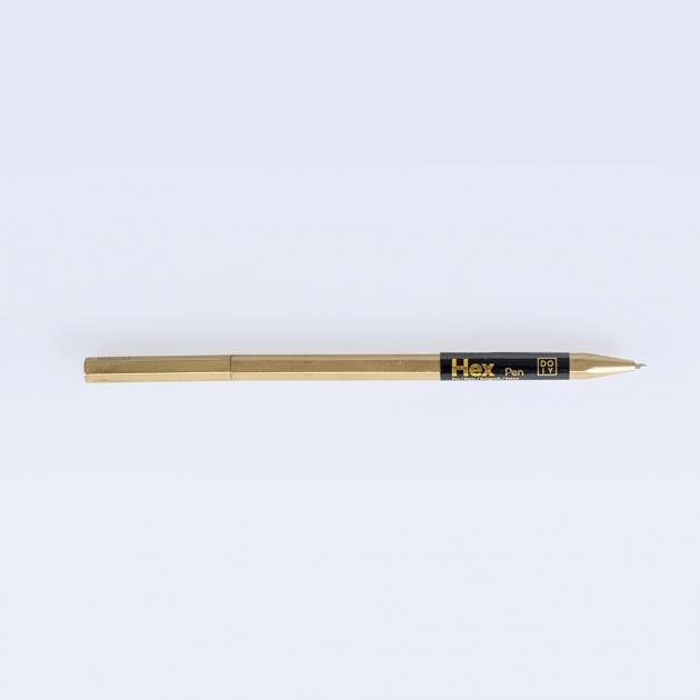 DOIY 六角黃銅系列文具-筆 1