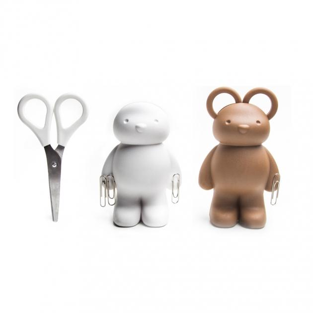 QUALY 泰迪小熊-剪刀組 (2色) 3
