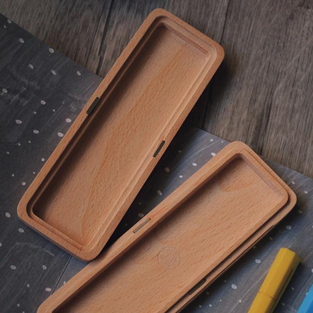 pana objects 原味木刻-筆盒 5
