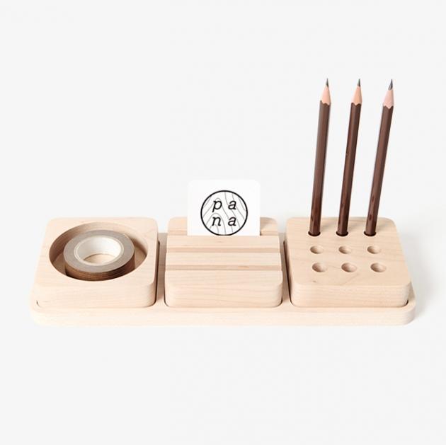 pana objects  豆腐積木S-文具收納盤 1