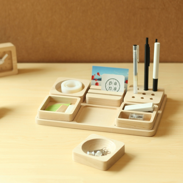 pana objects  豆腐積木L-文具收納盤 4