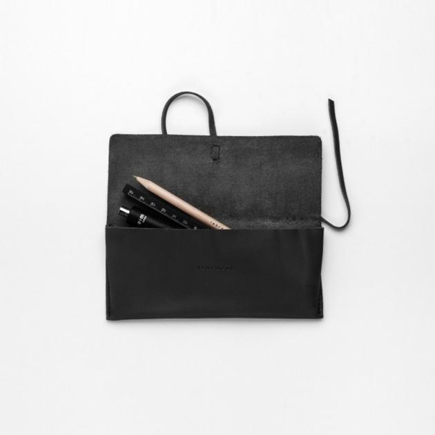 labrador 皮革筆袋 M (4色) 4