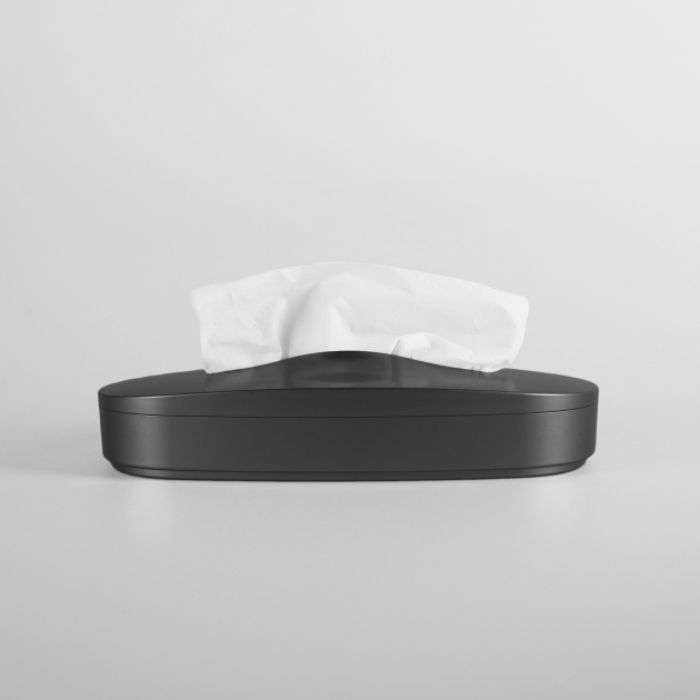 Flexible Tissue Box - Starry Black 1