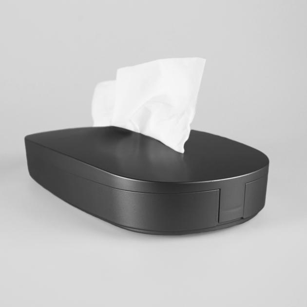 Flexible Tissue Box - Starry Black 2