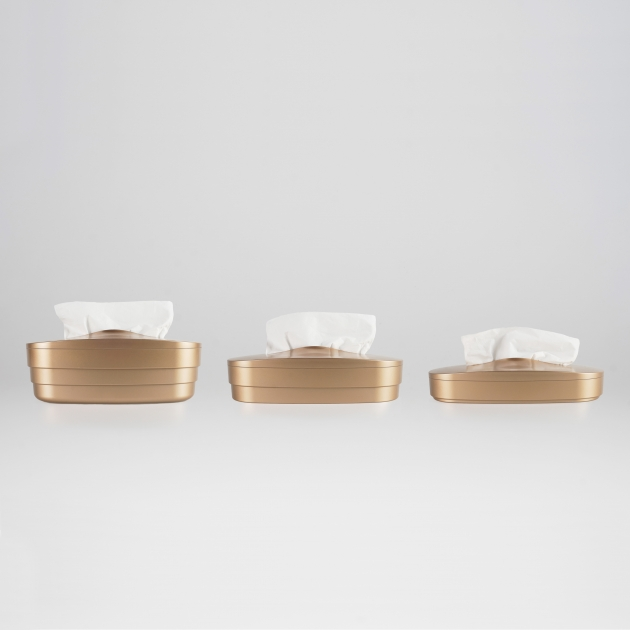 Flexible Tissue Box - Luxury Gold 4
