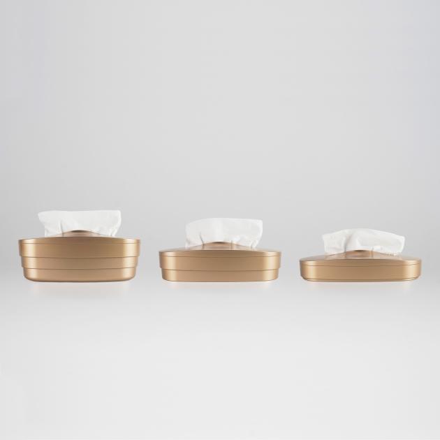 Flexible Tissue Box - Luxury Gold 4