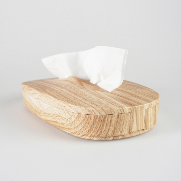 Flexible Tissue Box - Wood Grain 2