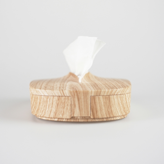 Flexible Tissue Box - Wood Grain 3