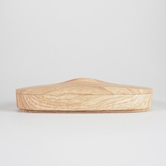 Flexible Tissue Box - Wood Grain 4