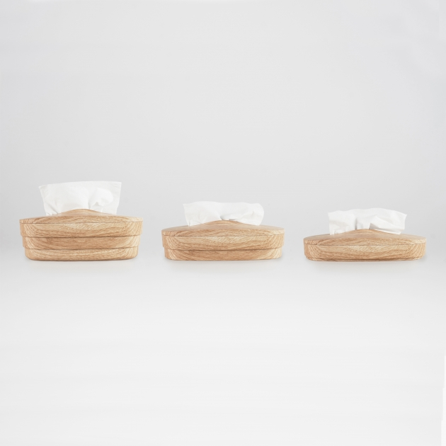 Flexible Tissue Box - Wood Grain 4