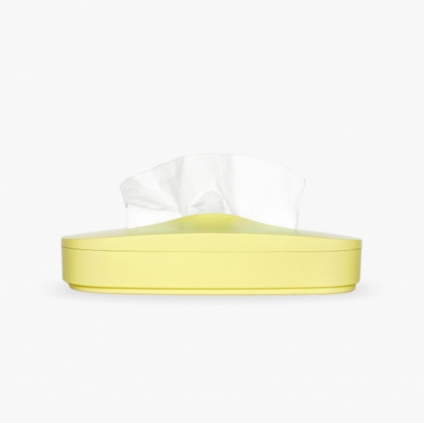 Flexible Tissue Box - Primrose Yellow 1