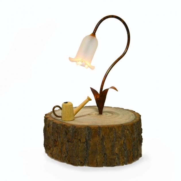 雲海木創 白風鈴小夜燈 (感應式) 1