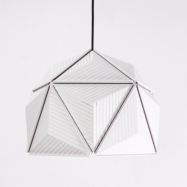 QUALY 三角幾何-燈罩 (2色) 2