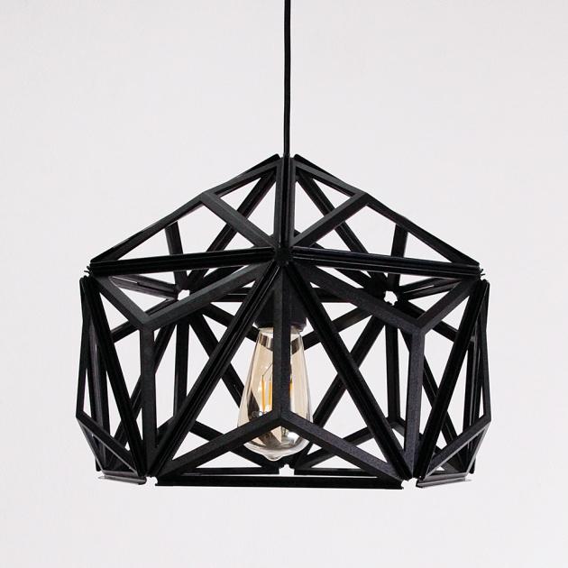 QUALY 三角幾何-鏤空燈罩 (2色) 4