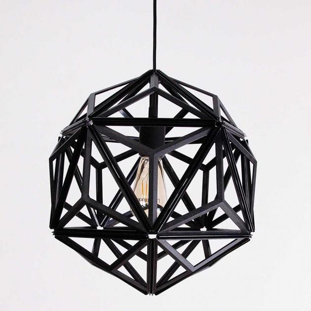 QUALY 三角幾何-鏤空燈罩 (2色) 3